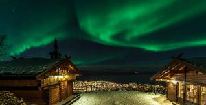 Se utsikten fra Scandic Hotel Narvik!
